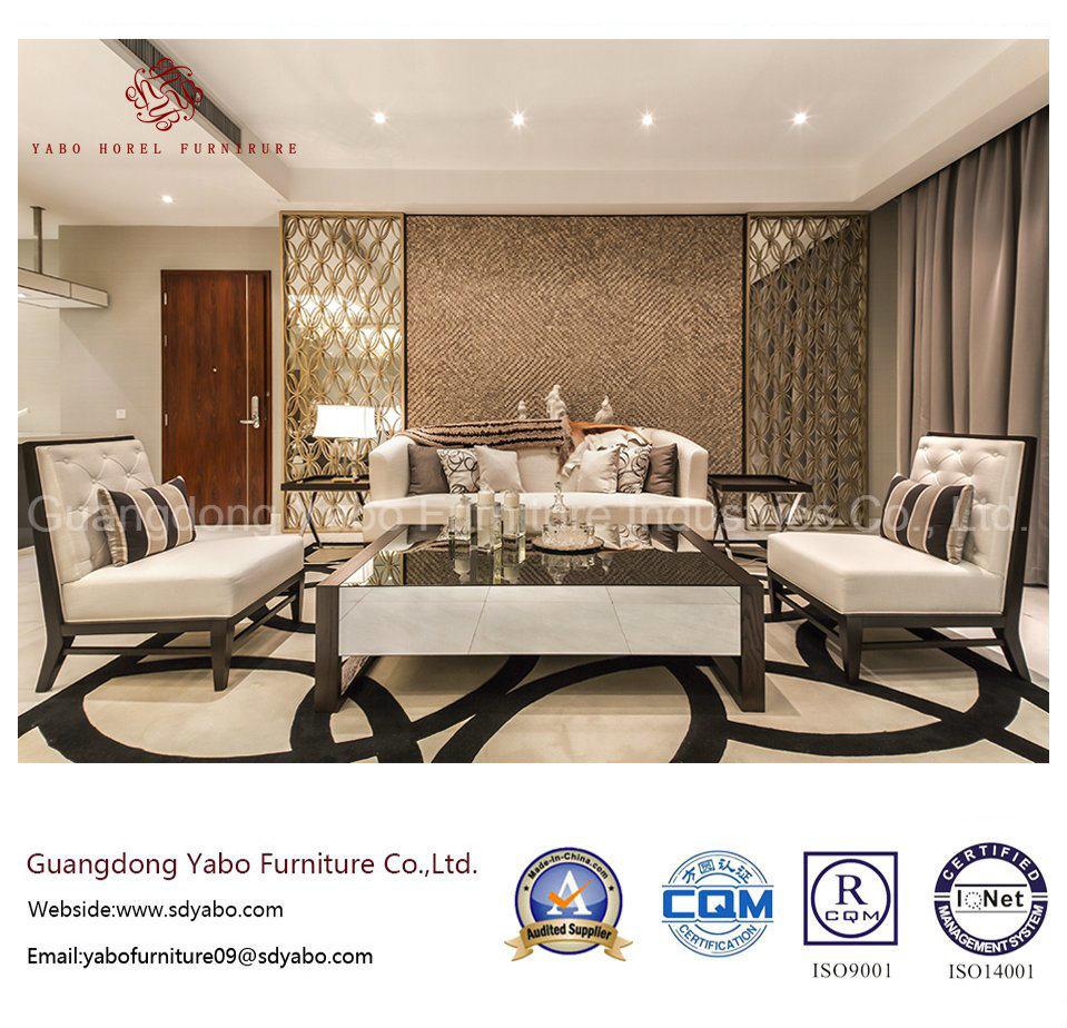 Custom Made Hotel Furniture with Bedding Room Set (YB-O-74)