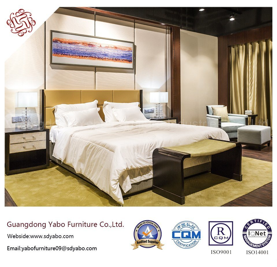 Ornate Hotel Furniture with Bedding Room Furnishing Set (YB-O-80)