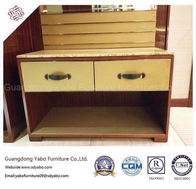Modern Hotel Furniture with Luggage Rack for Bedroom (YB-F-2555)