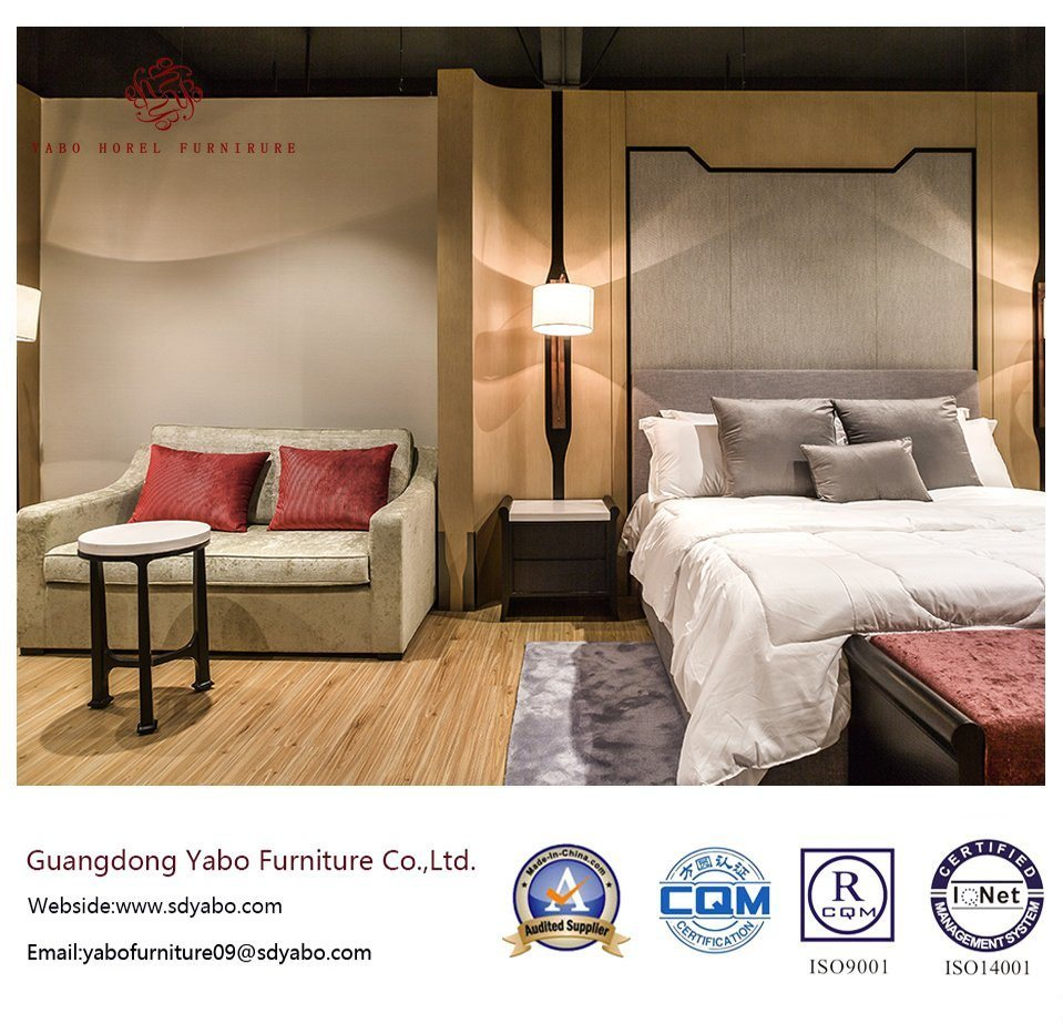 Oak Hotel Furniture with Modern Bedding Room Set (YB-O-69)
