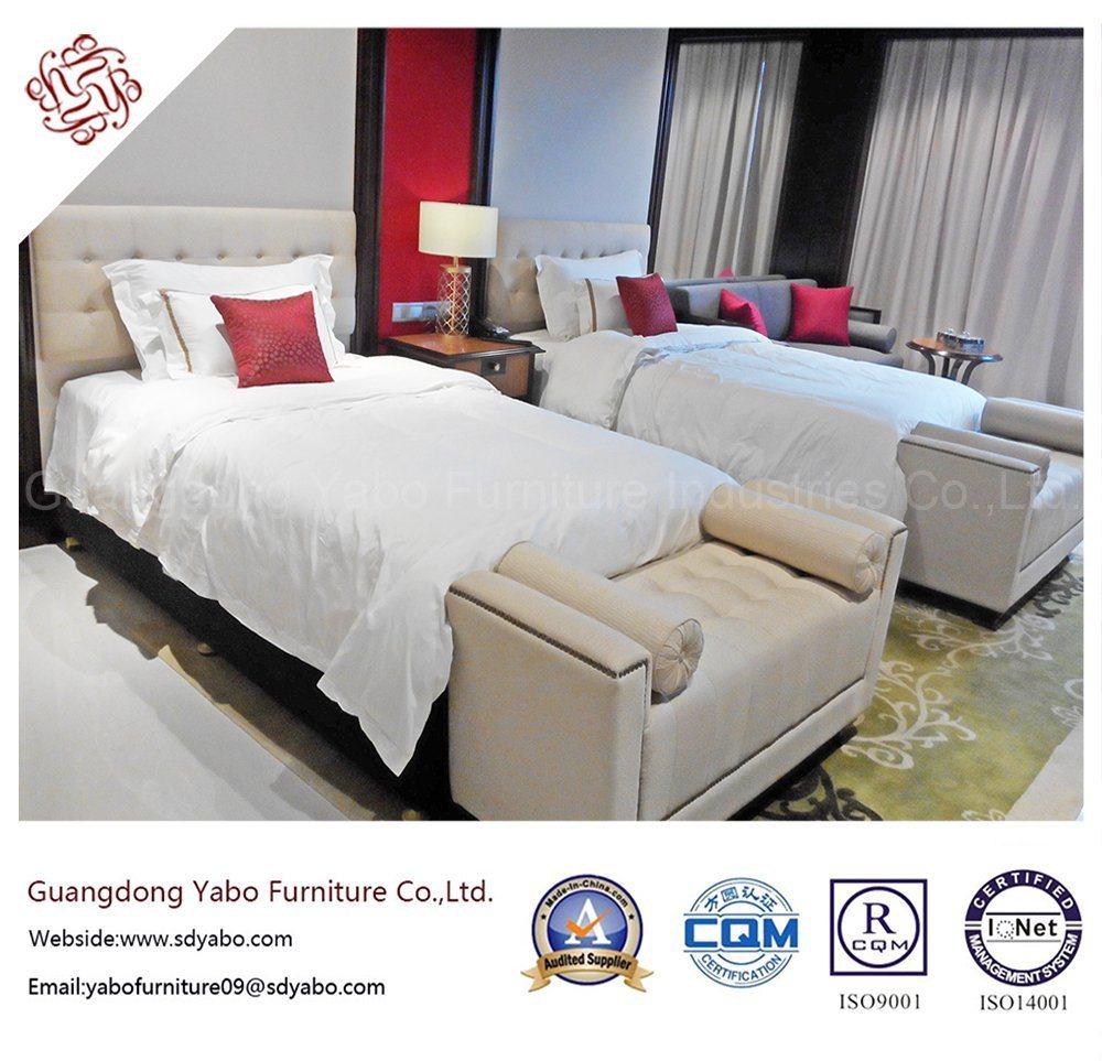 Fabulous Hotel Furniture with Twin Bedding Room Set (YB-O-70-1)