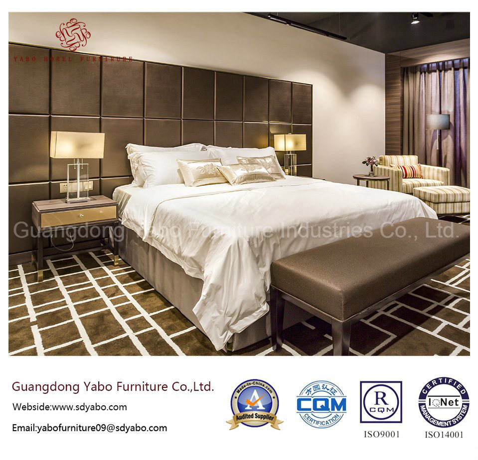 Luxurious Hotel Furniture with Laminate Bedding Room Set (YB-O-73)