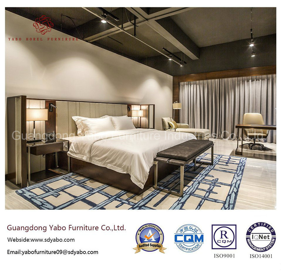 Excellent Hotel Furniture with Concise Bedroom Set (YB-O-75)