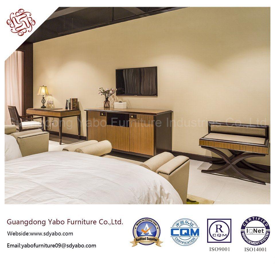Fabulous Hotel Furniture with Twin Bedding Room Set (YB-O-70)