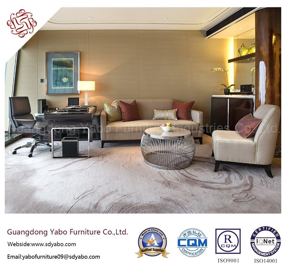 Necessary Hotel Furniture with Polished Bedroom Set (YB-O-77)