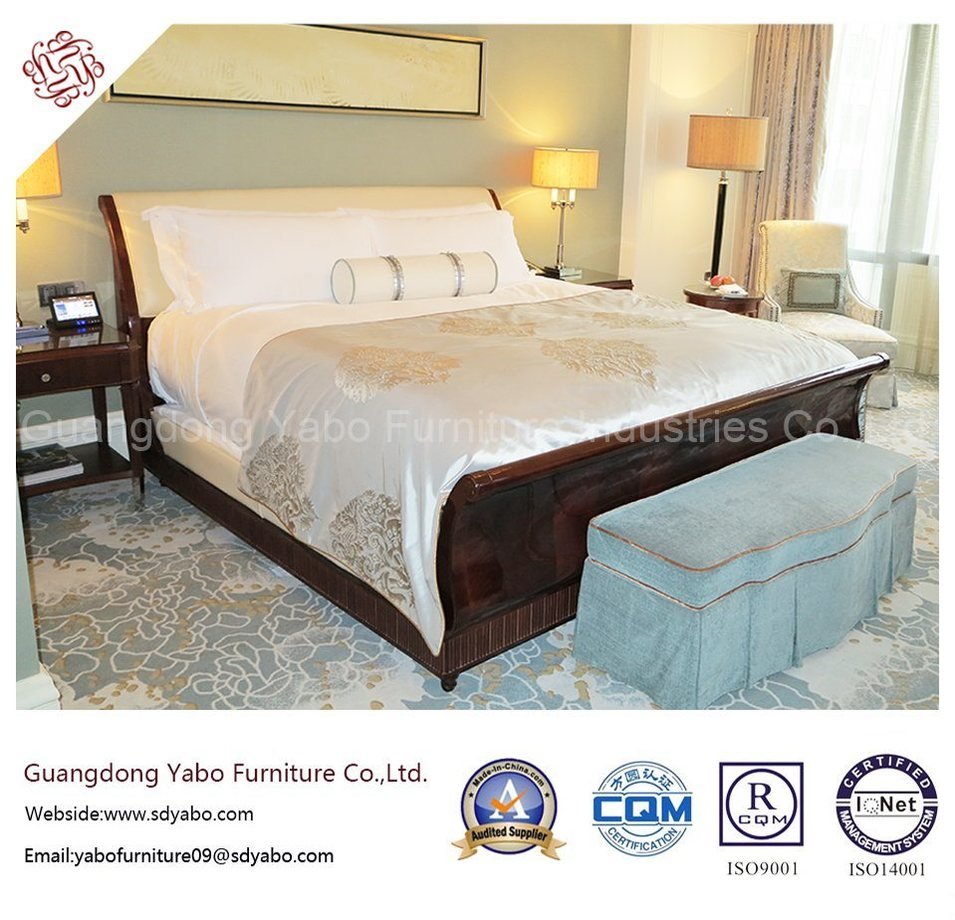 Salable Hotel Furniture with Luxurious Bedroom Set (YB-O-79)