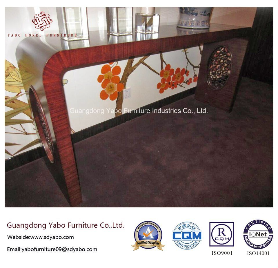 Hotel Hallway Furniture with Wooden Decorative Console Table (YB-F-2838)