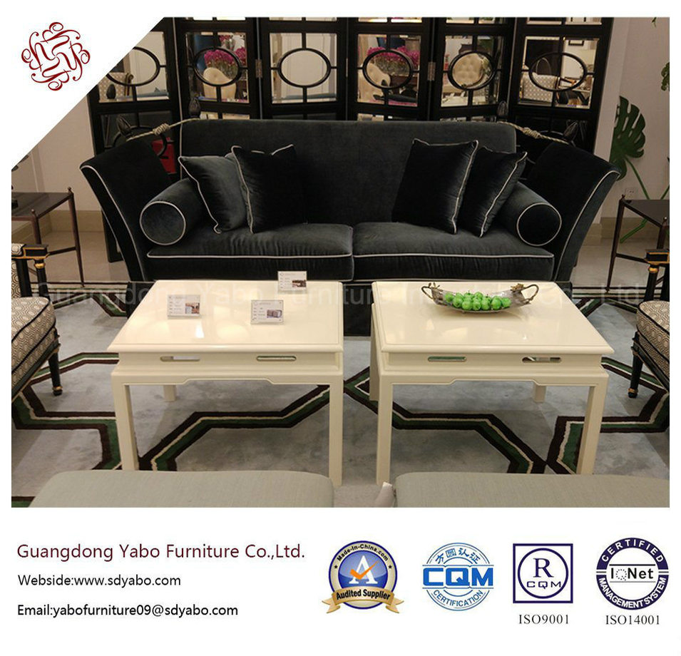 Modern Hotel Furniture with Lobby White Paint Coffee Table (YB-F-997-1)