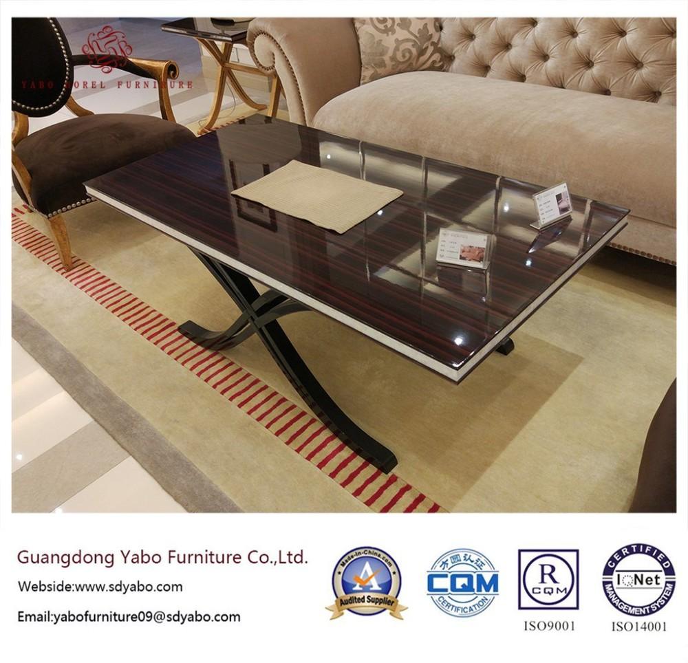Modern Hotel Furniture with Lobby Polishing Coffee Table (YB-F-002-1)