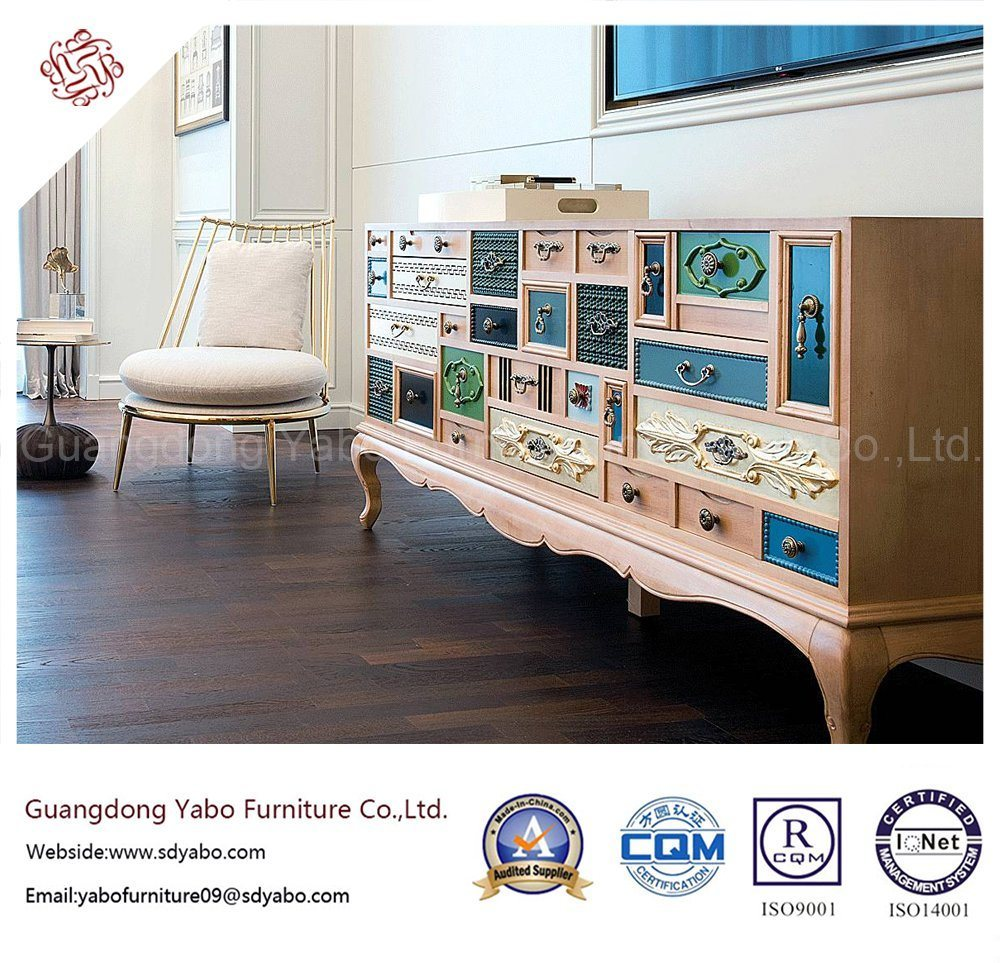 Modern Hotel Furniture with Solid Wood Decorative Cabinet (B8003-25)