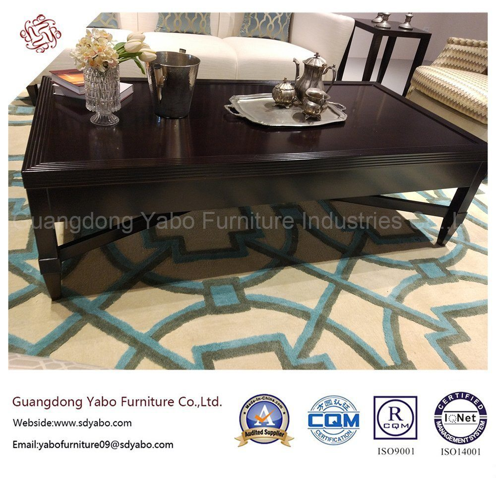 Commerical Hotel Furniture with Lobby Rectangle Coffee Table (YB-D-22-1)
