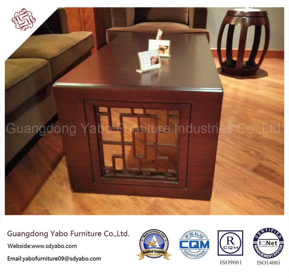 Hotel Furniture with Lobby coffee Table with Chinese Element (YB-E-21-1)