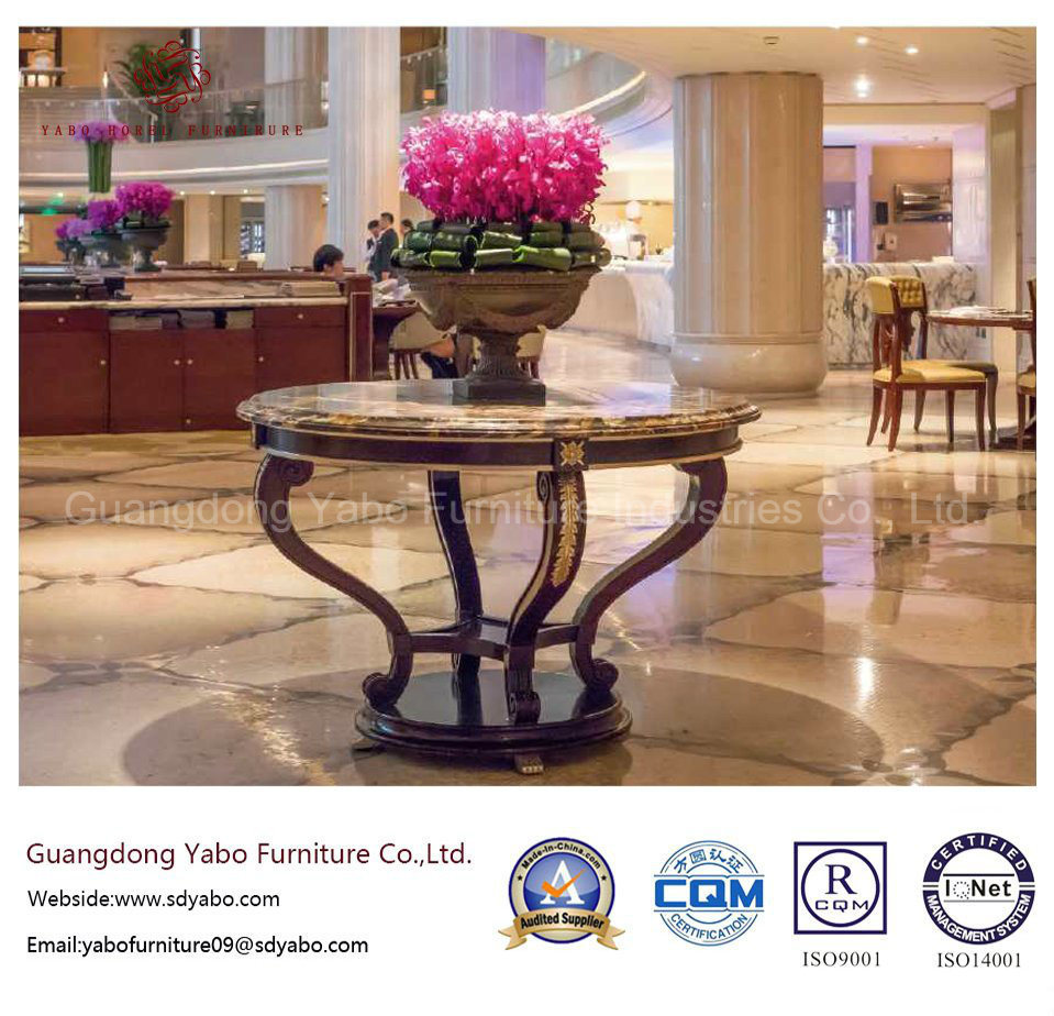 Granite Flower Stand for Hotel Lobby Furniture Set (HL-T-6)