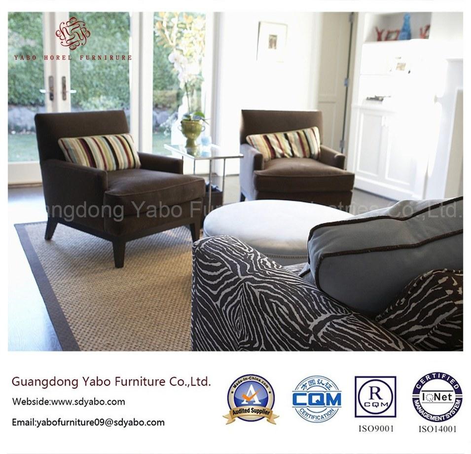 Hotel Furniture Fabric Lounge Armchair Lobby Furniture