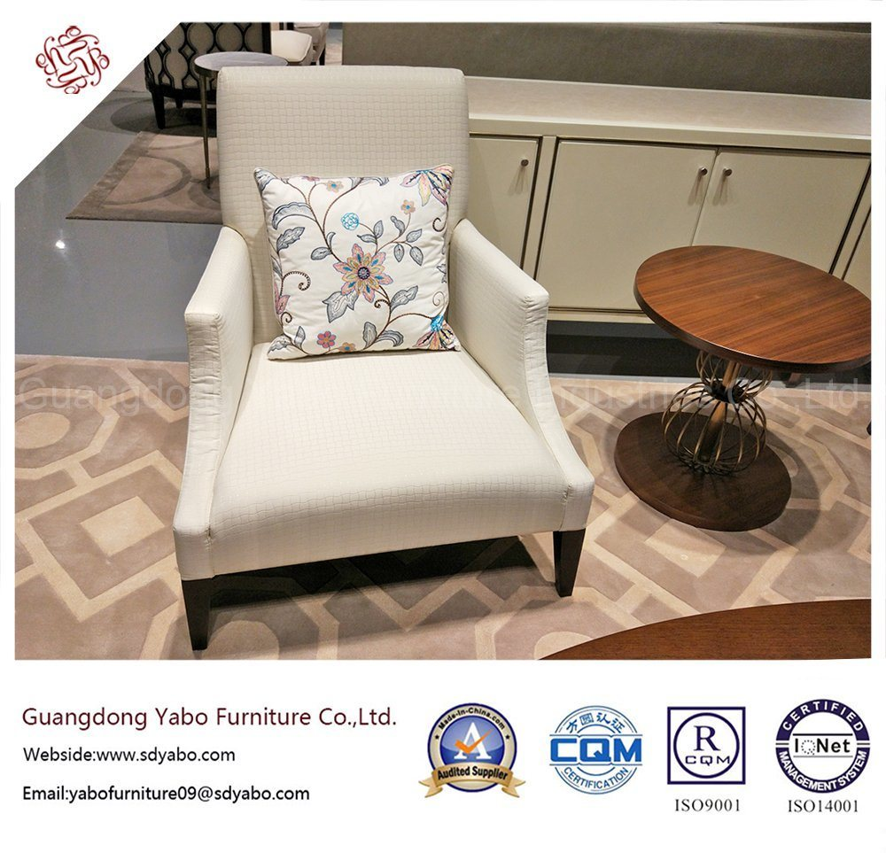 Classical Hotel Furniture with Wooden Lobby Armchair (YB-D-16)