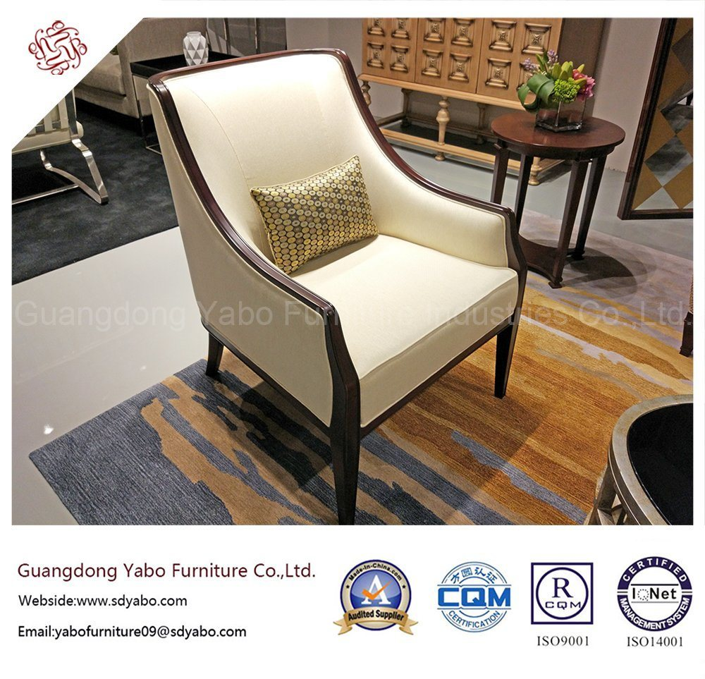 Oak Hotel Furniture with Modern Lobby Armchair (YB-D-3)
