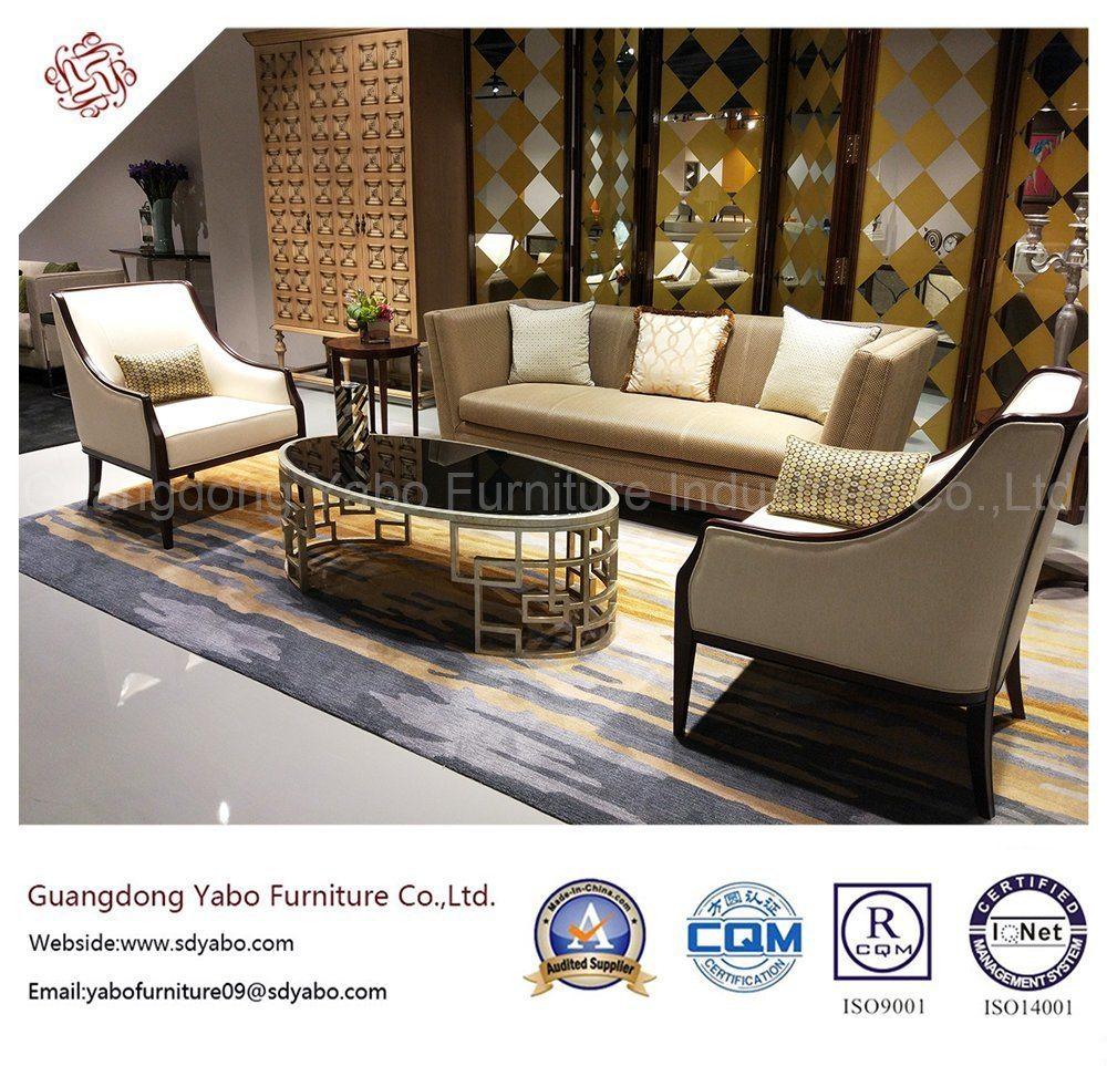 Oak Hotel Furniture with Modern Lobby Armchair (YB-D-3)