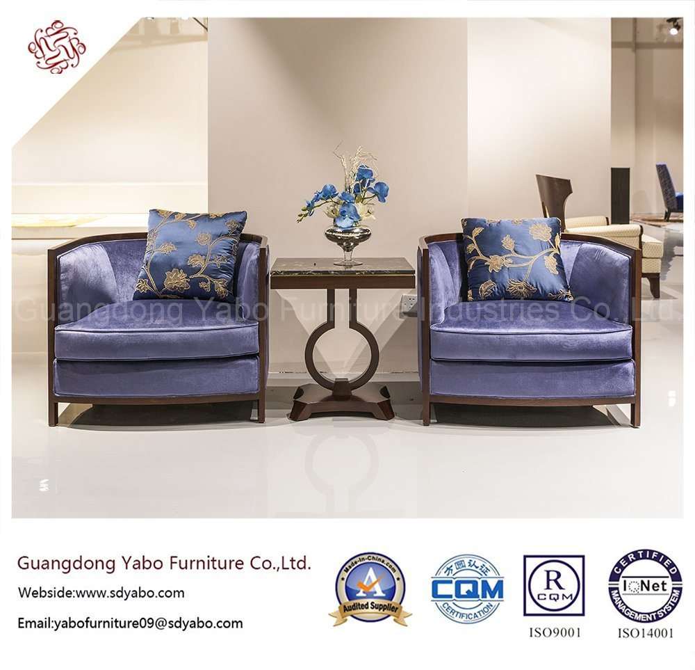 Superior Hotel Furniture with Lobby Wooden Armchair (HL-X-3)