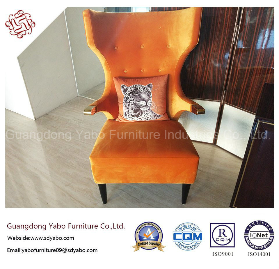 Hotel Furniture with High Wing Chair for Lounge Lobby (HL-1-7)