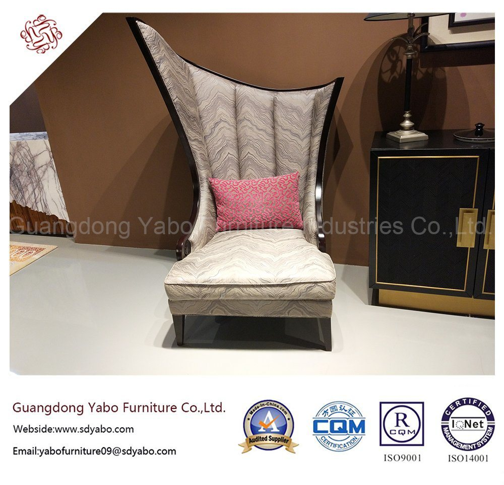Stylish Hotel Furniture with Distinctive Wing Chair for Lobby (HL-2-6)