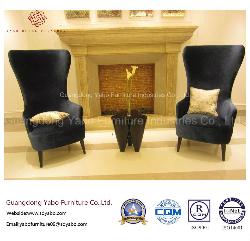 Modern Hotel Furniture with High Back Chair for Lobby (YB-CY12-29)