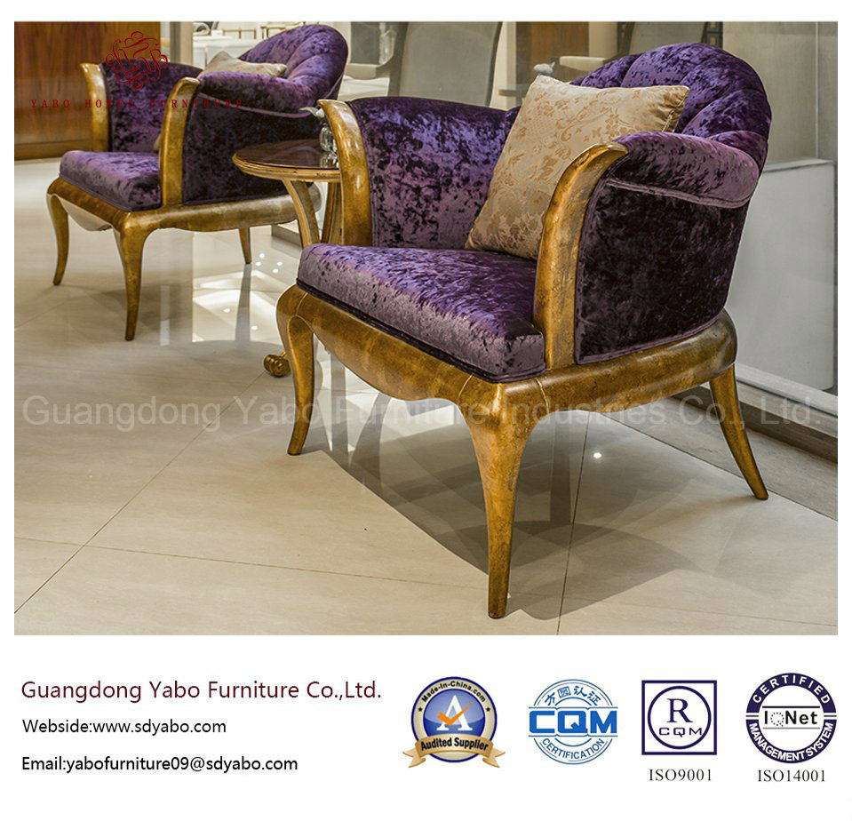 Fashionable Hotel Furniture for Lobby Furniture with Lounge Armchair (YB-S-825B)