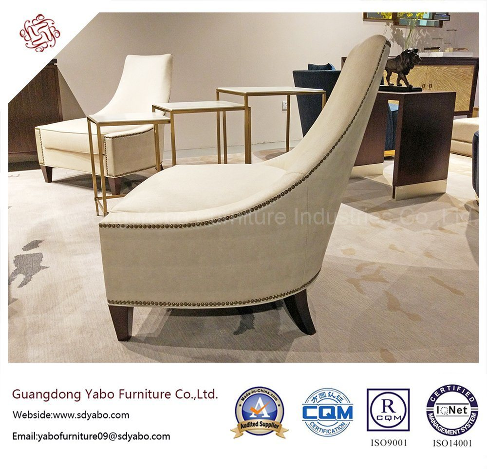 Leisure Hotel Furniture with Fabric Lobby Single Chair (6206)