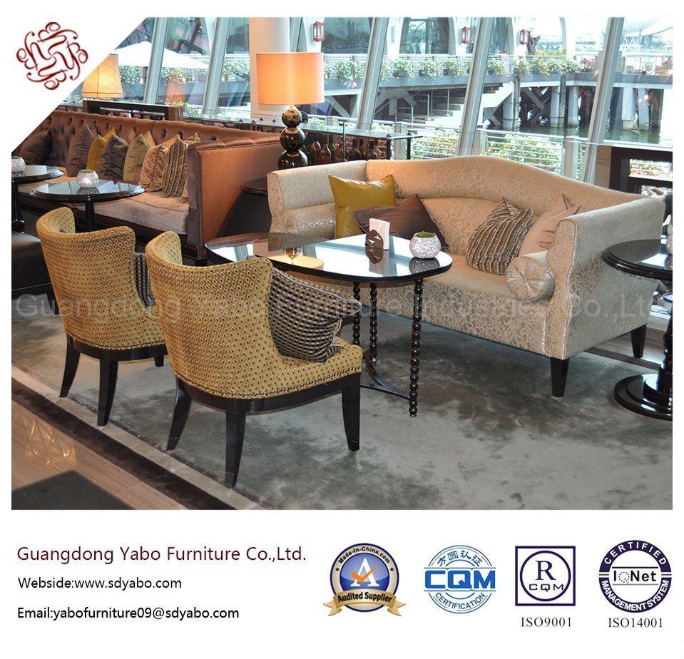 Smartness Hotel Furniture with Lobby Lounge Sofa Set (YB-B-3)