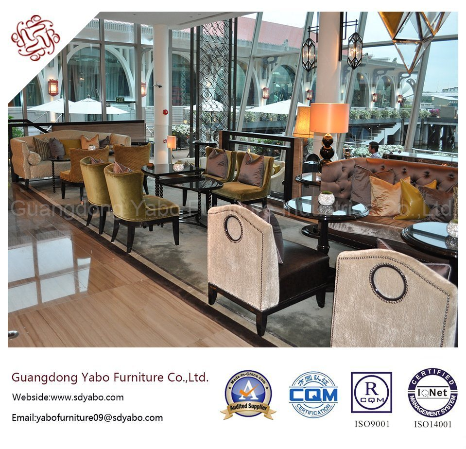 Classical Hotel Furniture with Lobby Furniture Sofa Set (YB-B-9)