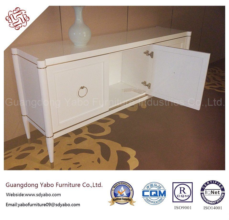 Hotel Furniture with White Painting Cabinet for Living Room (YB-T-861)