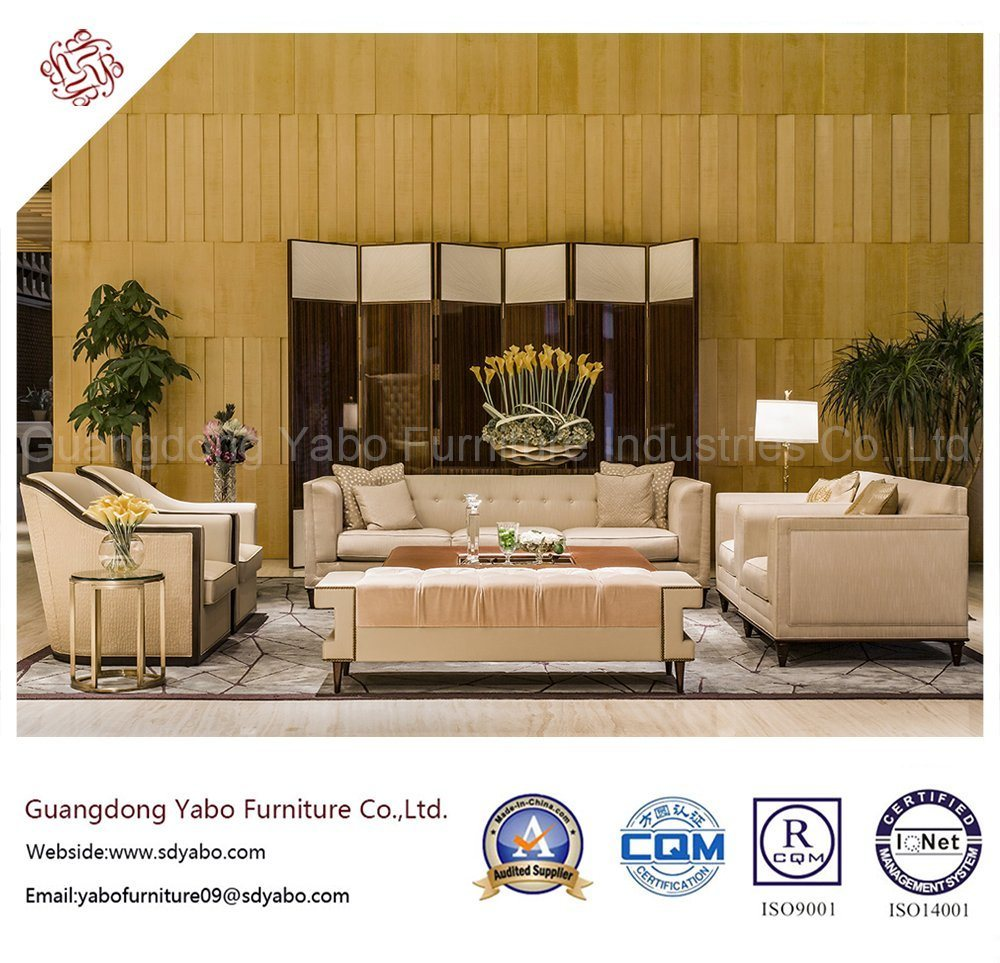 Modern Hotel Furniture with Lobby Custom Sofa Set (HL-1-4)