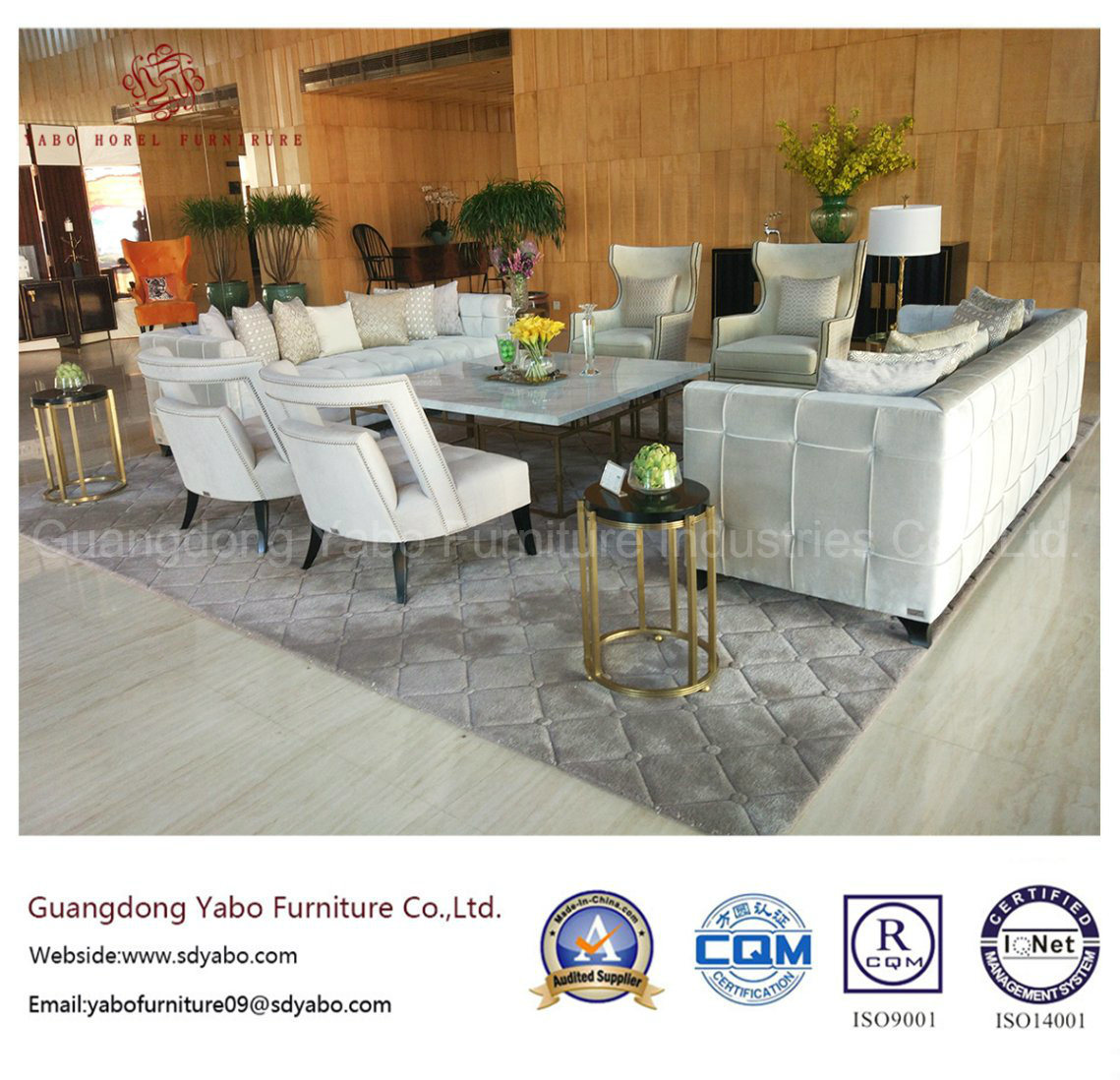 Hotel Furniture Lobby Furniture Sofa Set