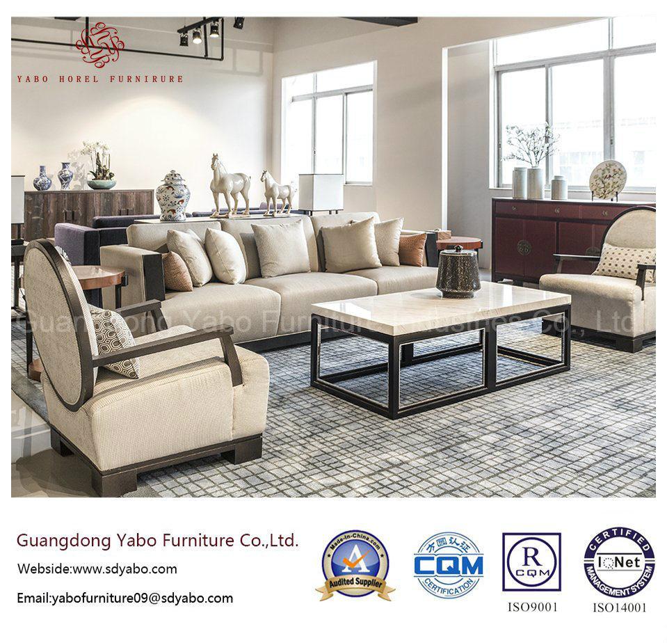 Custom Modern Hotel Furniture for Lobby Sofa Furniture Set (HL-X-1)