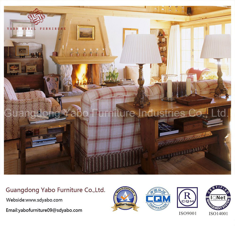 Particular Hotel Furniture for Hotel Lobby with Sofa Set (YB-C-10)
