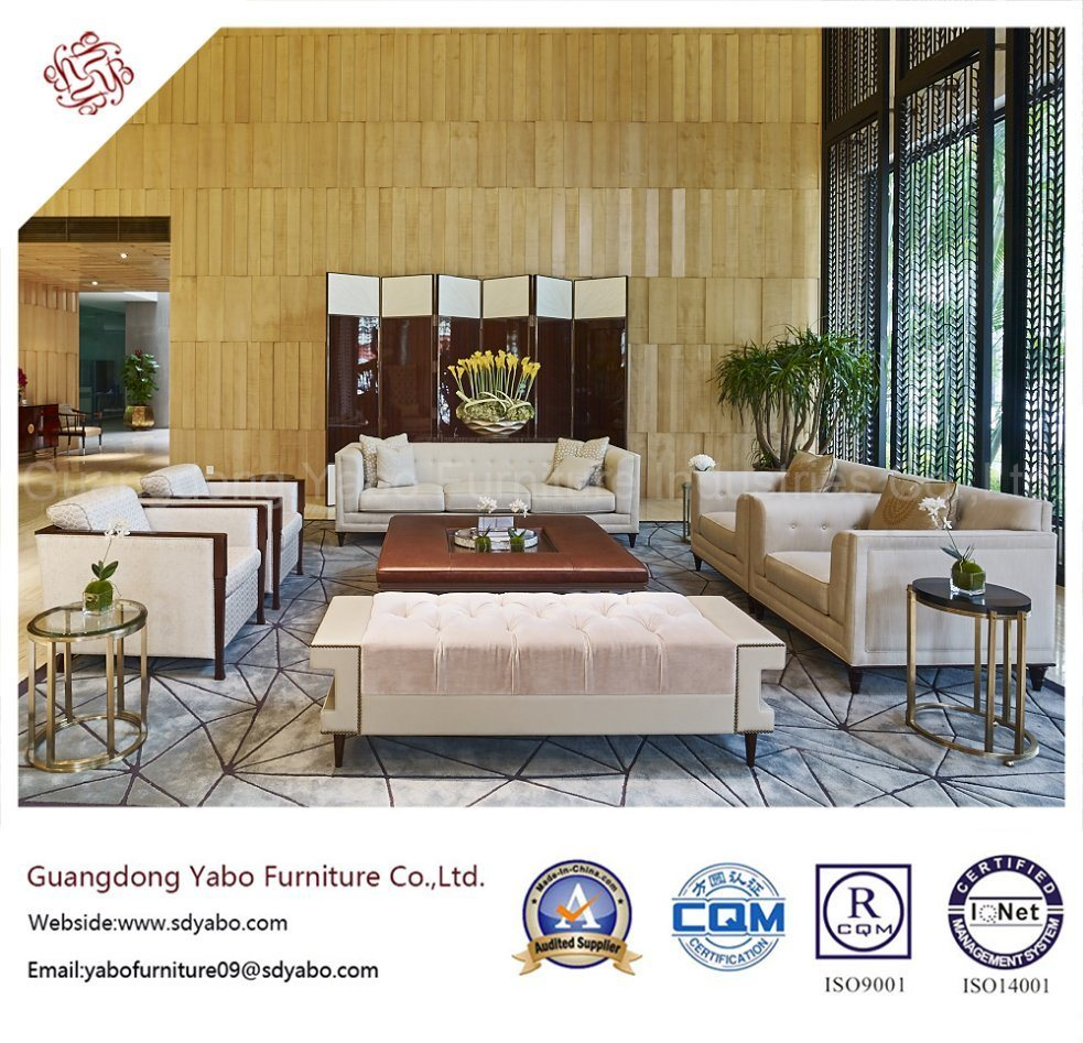 Smartness Hotel Lobby Furniture Set for Lounge Area Sofa (HL-1-3)