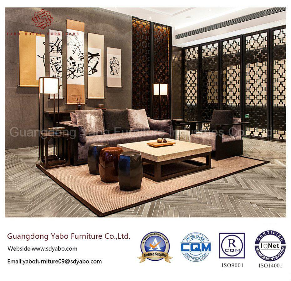 Chinese Hotel Furniture for Hotel Lobby Sofa Set (YB-WS-63)