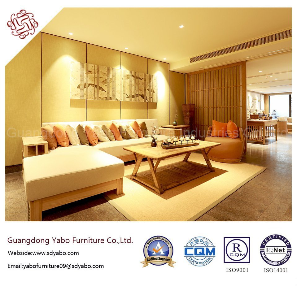 Salable Hotel Furniture for Lobby Lounge Sofa Set (YB-HB0301)