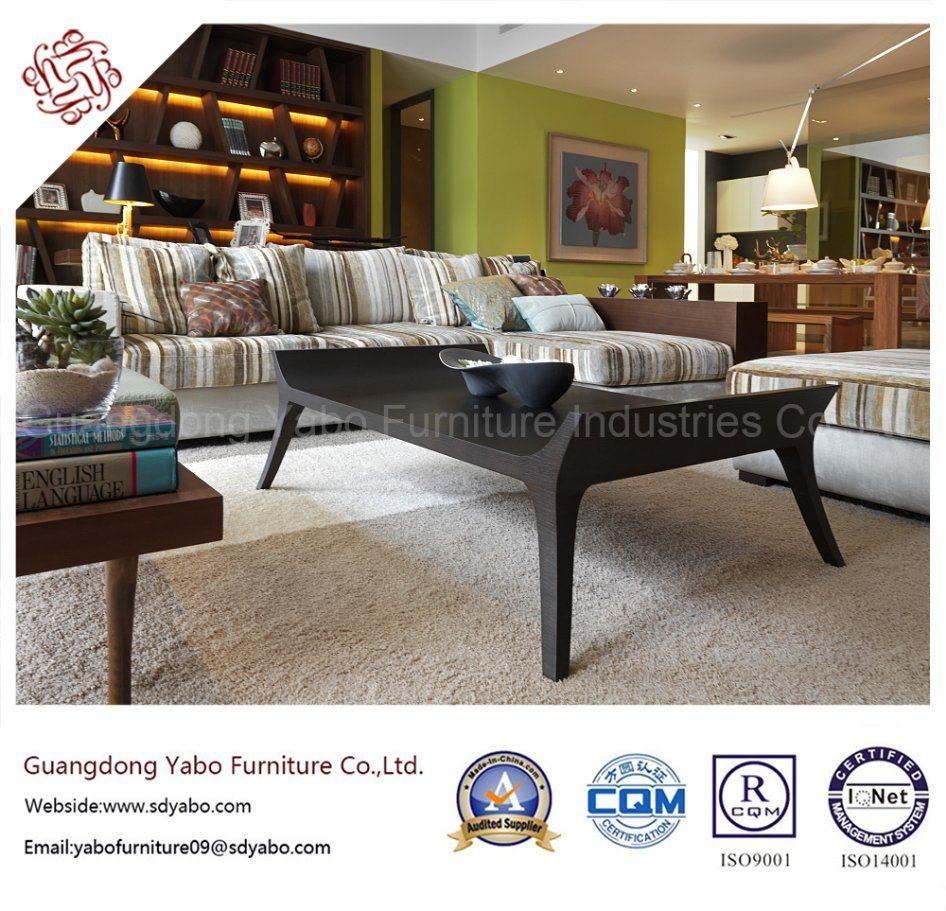 Fashionable Hotel Furniture with Wooden Sofa Set (YB-B-43)