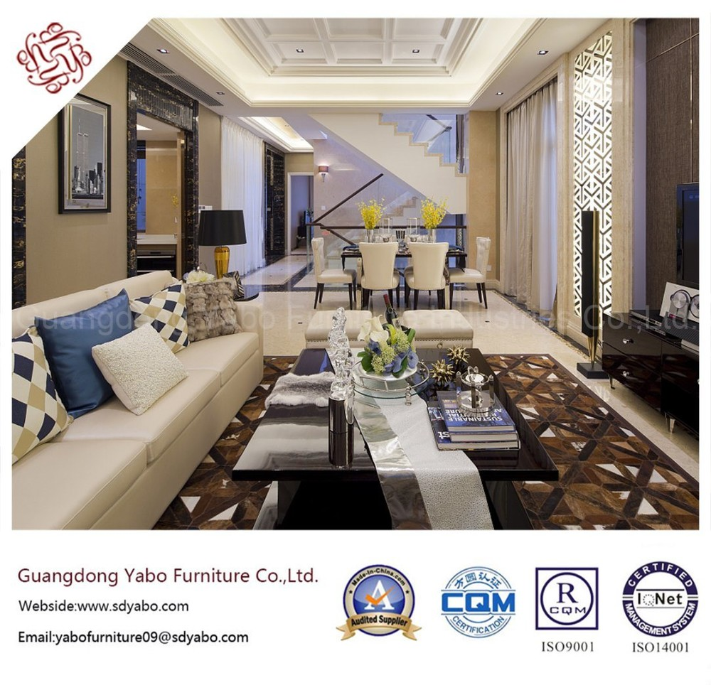 Creative Hotel Furniture for Lobby Lounge with Sofa Set (YB-B-38)