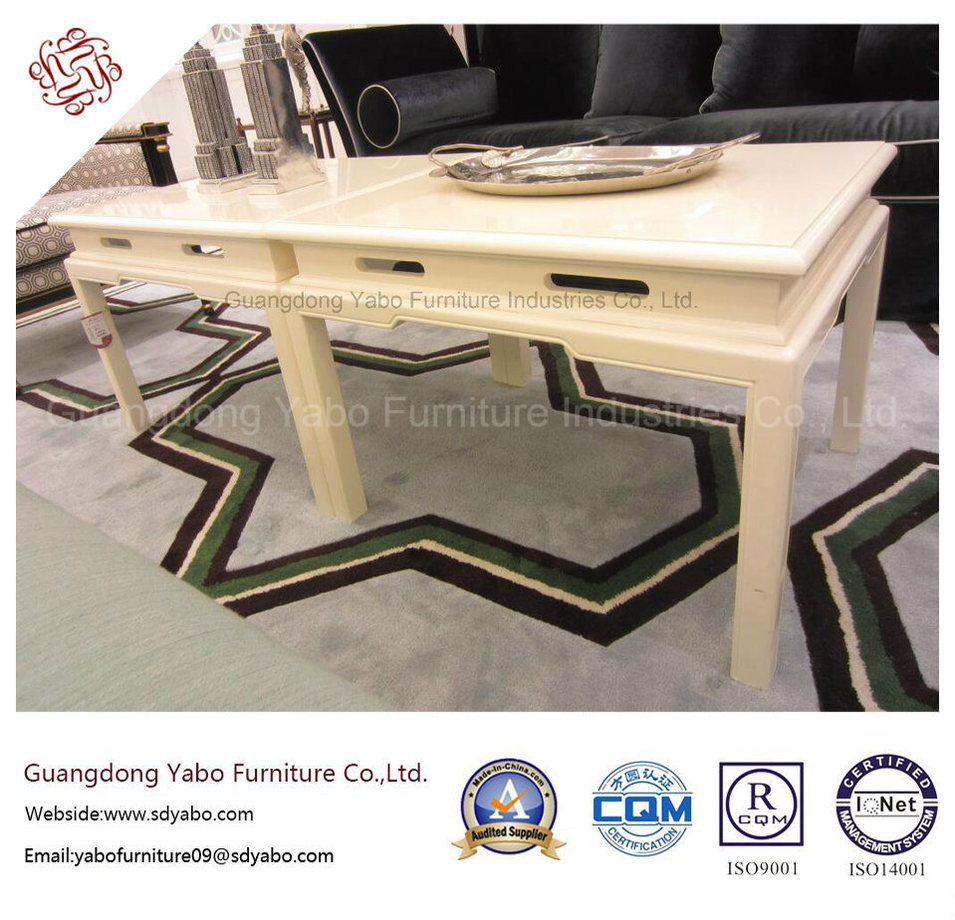Hotel Furniture with Living Room Painted Coffee Table (YB-F-997)