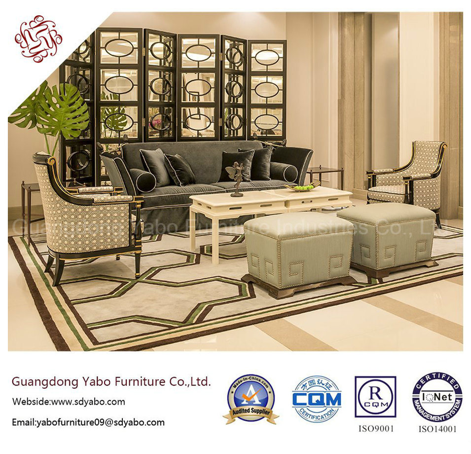 European Style Hotel Furniture for Lobby Sofa Set (HL-2-2)