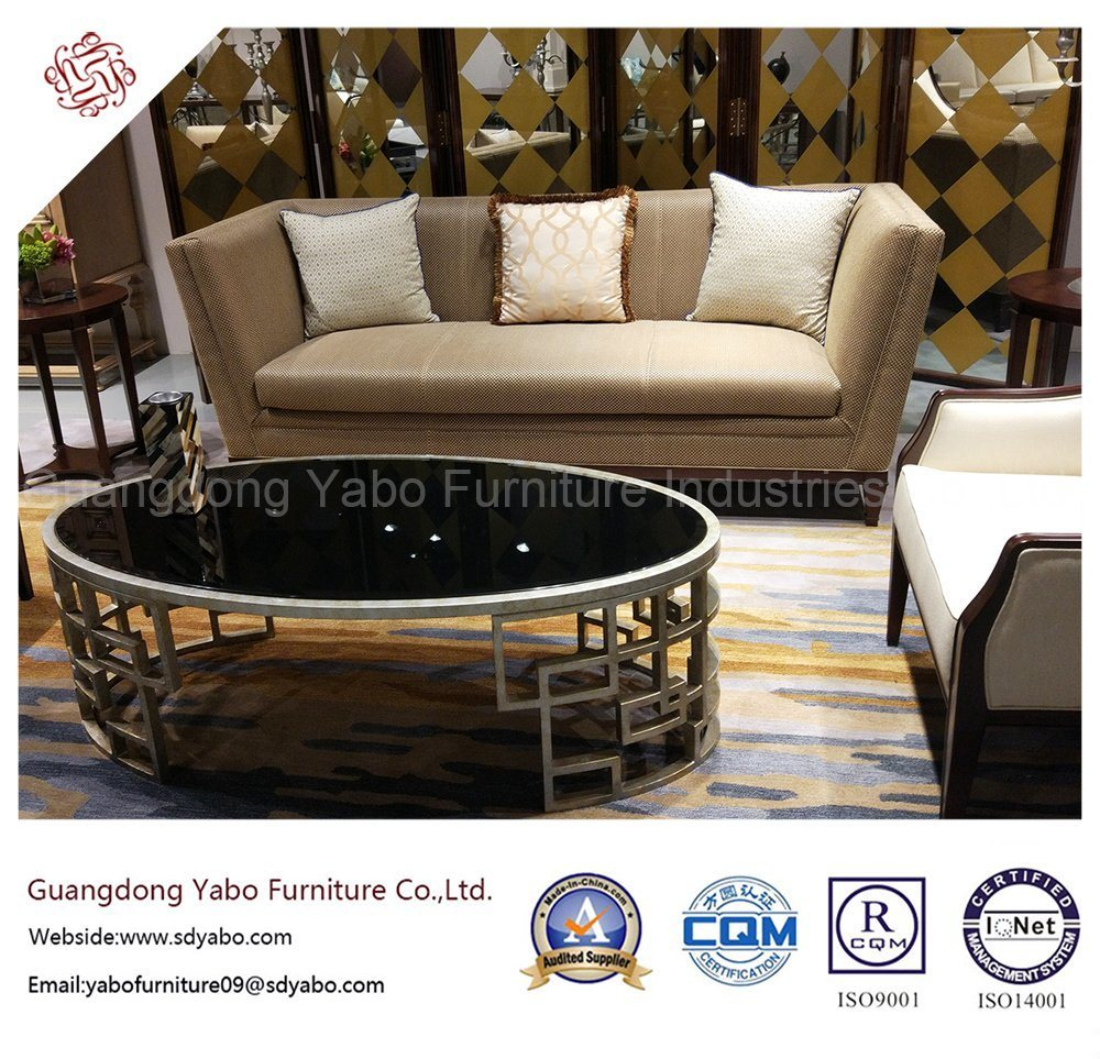 Custom-Made Hotel Furniture for Lobby Lounge Sofa Set (HL-T-2)