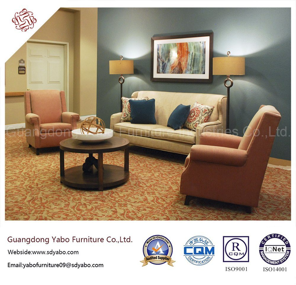 Delicate Hotel Furniture with Lobby Lounge Single Sofa (YB-H-26)