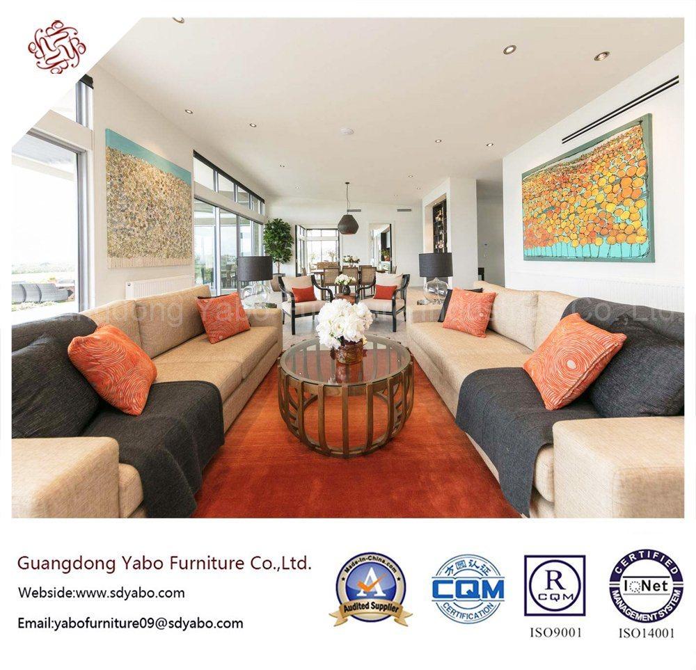 Stylish Hotel Furniture with Lobby Lounge Fabric Sofa Set (YB-H-30)