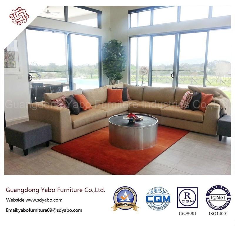 Fabulous Hotel Furniture with Lobby Lounge Corner Sofa (YB-H-31)