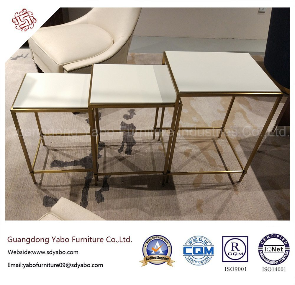 Modern Hotel Furniture for Living Room Glass Coffee Table (8653)
