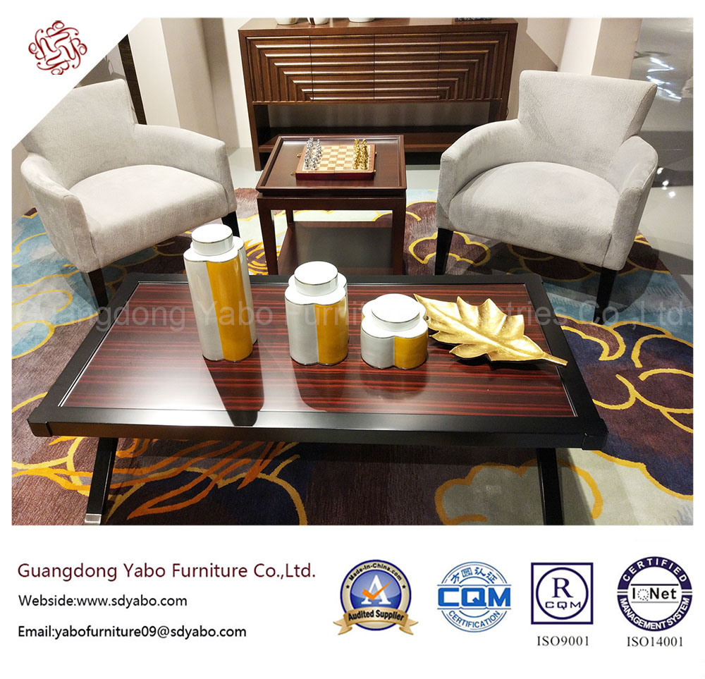 fashion Hotel Furniture with Wooden Coffee Table (20-906-1)