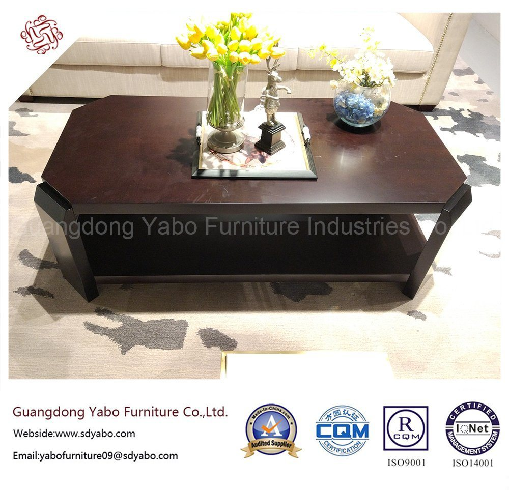 Modern Hotel Furniture with Living Room Long Coffee Table (3453-1)