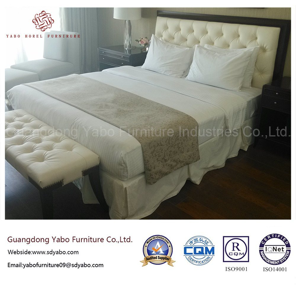 Delicate Hotel Furniture for Bedroom Set Made of Wood (YB-G-6-1)