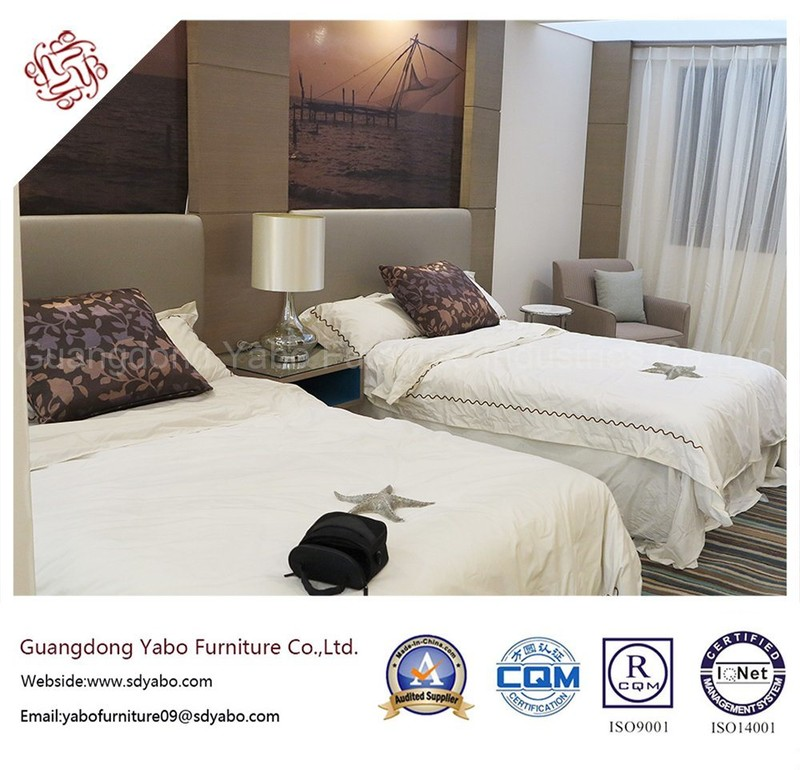 Upscale Hotel Furniture for Bedroom Set with Double Bed (YB-G-19)